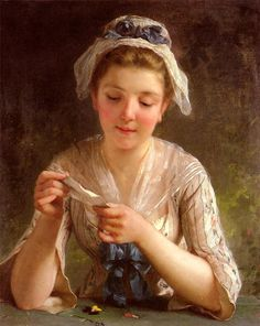 Emile Munier. La Lettre (The Letter)