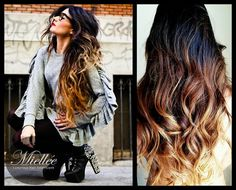 this ombre is gorgeous