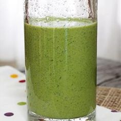 Skinny Green Monster Smoothie on BigOven