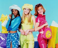 can we stop sleeping on the clueless tv show! Clueless Outfits, Clueless Fashion, Tv Show Outfits, Fashion Tv, Trending Fashion, Stacey Dash Clueless, Elisa Donovan, Cher And Dionne, Tv Mode
