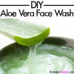 Throw out those harsh face washes and learn how to make your own. This soothing aloe vera cleanser is a mild foaming face wash that works just as well as conventional face washes. Aloe Vera Face Wash, Aloe Vera For Skin, Aloe Vera Skin Care, Homemade Face Cleanser, Facial Cleanser, Homemade Scrub, Moisturizer, Diy Aloe Vera Gel, Best Beauty Tips