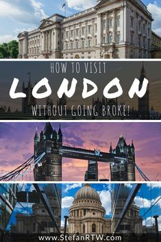 Here is a great collection of London travel tips that you can use to visit London on a budget without having to worry so much about how much everything costs! Best Travel Guides, Travel Deals, Budget Travel, Travel Destinations, Travel Tips, Travel Articles, Travel Info, Ireland Travel, London Travel