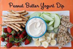 Peanut Butter Yogurt Dip: 3 Healthy Ingredients from Weelicious.com