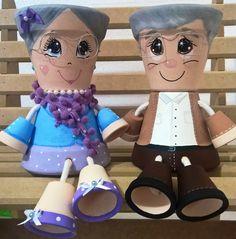 Resultado de imagem para bonecos de vasos de ceramica