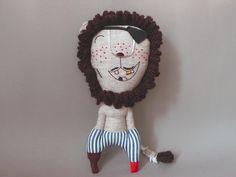 Kuscheltiere - JIPI JIPI Löwe Stofftier - Mr. Lion Pirat 203 - ein Designerstück von jipijipi bei DaWanda