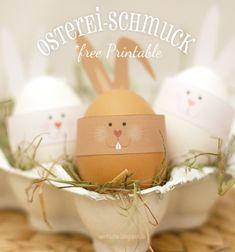 Free printable Easter egg decor - bunny face // Egyszerű nyomtatható papír húsvéti tojás dísz - nyuszi // Mindy - craft tutorial collection // #crafts #DIY #craftTutorial #tutorial