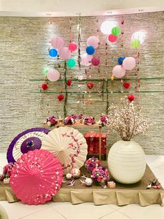 Chinese New Year Decorations, New Years Decorations, Cherry Blossom Party, Asian Party, Beach Wedding Decorations, Asian Decor, Party Themes, Backdrops, Wedding Inspiration