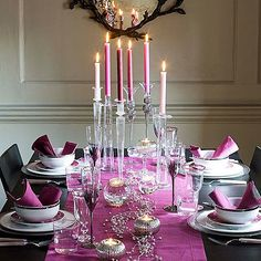 New Years table setting | 2012-New-Years-Eve-Dinner-Party-Table-Setting-Ideas-5