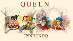Queen ve Mercury'den Hoşçakalın: Innuendo Brian May, John Deacon, Queen Band, Bruce Springsteen, Queen Songs, Led Zeppelin, Metallica, God Save The Queen, Die Queen
