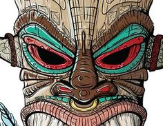 """Check out new work on my @Behance portfolio: """"Mayan masks project"""" http://be.net/gallery/37009719/Mayan-masks-project"""