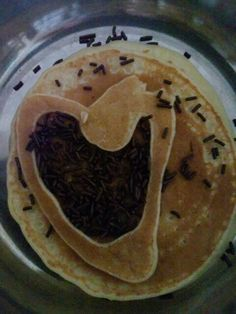 Choco ceres pancakes