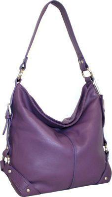 Nino Bossi Belinda Bucket Grape - via eBags.com!
