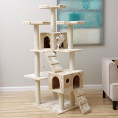 Armarkat 74-inch Jungle Gym Cat Tree (a7401)