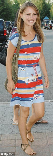Natalie Portman at the US Open in New York, 2008