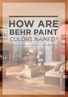 Looking to add a splash of playfulness to your home for your next DIY project? These unusual and unique color combinations from BEHR are sure to inspire you! Find out how paint gets their unique names.