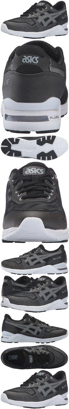 ASICS Men's Gel-Lyte Evo NT Fashion Sneaker, Black/White, 10 M US