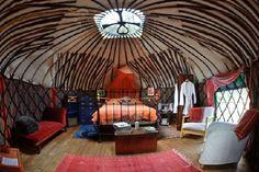 vintage yurt - Google Search