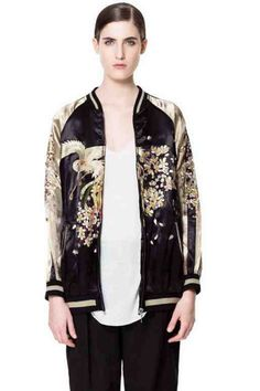 Zara bomber-much better in person. Happy bday to me.
