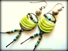 Hey, I found this really awesome Etsy listing at https://www.etsy.com/dk-en/listing/277789706/funky-boho-artisan-earrings-porcelain