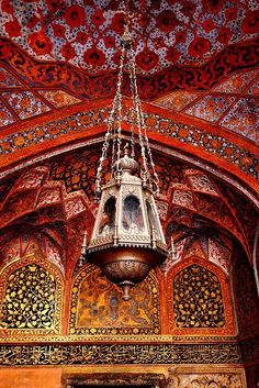 Emperor Akbar's Mausoleum Agra, India. The Mughal Era - Design and Architecture. Islamic Architecture, Art And Architecture, Beautiful Architecture, Le Far West, Moroccan Style, Moroccan Lamp, Moroccan Lighting, Moroccan Design, Arabian Nights