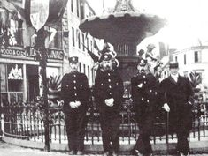 Dumfries Burgh Police officers, Currie, Murray, Glendenning and another, 1903 Police Crime, Police Cars, Police Uniforms, Police Officer, British, History, Vehicles, Historia, Car