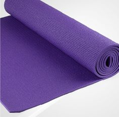 Hot purple PVC YOGA MAT from yogaers.com