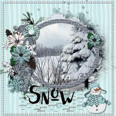 Snow on the Lake - Scrapbook.com