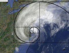 Fibonacci Hurricane Irene