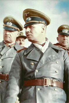 German WW II Color Photo     ** Erwin  Rommel -<>- Derest Fox  **  .     #468