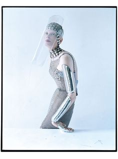 W magazine 2012. Tim Walker Shoots Kristen McMenamy in Medieval Fashion