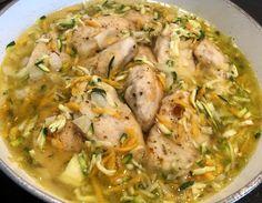 Filety drobiowe w pysznym sosie z cukinią - Blog z apetytem Thai Red Curry, Poultry, Chicken, Ethnic Recipes, Blog, Products, Diet, Recipes