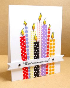 One More Candle - cute and simple