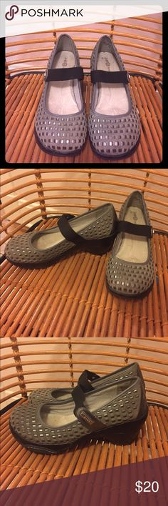 "Vegan Leather Comfort Mary Janes Vegan leather comfort Mary Jane platform/heels. Size 10. Both comfortable and edgy. Cushy padded insole. You'll forget you're wearing ""heels"" I get so many compliments on these. Make everyone jealous! J-14 Shoes Platforms"