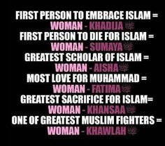 Islamic Quotes about Women : what is the status of women in islam ? what rights does islam gives to women ? in this article we will see in detail what Quran , Hadith , Prophet Muhammad (PBUH) said about women and her status . Best Islamic Quotes, Beautiful Islamic Quotes, Muslim Quotes, Islamic Inspirational Quotes, Religious Quotes, Islamic Qoutes, Islamic Images, Islamic Pictures, Arabic Quotes