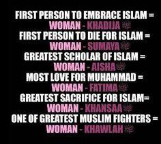 Women in Islam  Islam is beautiful...Alhamdulillah