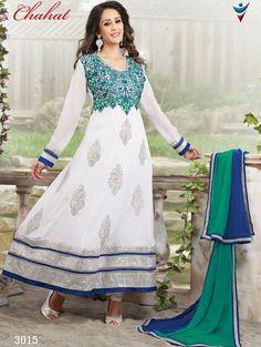 Indian Designer Suit Pakistani Bollywood Kameez Ethnic Salwar Anarkali Dress New #TanishiFashion