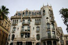Domenech i Montaner. Casa Fuster. Barcelona.