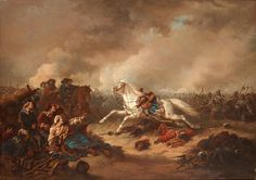 The King's empty saddle - King Gustavus Adolphus' warhorse at the Battle of Lutzen