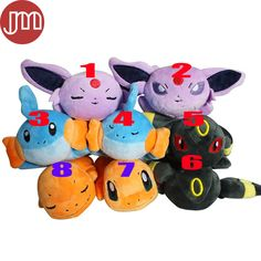 Find More Movies & TV Information about New Pokemon Charmander Wooper Espeon Umbreon Kawaii Lying Flat Anime Peluche Baby Dolls Kids Toys Plush Bonecas 20cm Brinquedos,High Quality doll boo,China toy decks Suppliers, Cheap doll war from M&J Toys Global Trading Co.,Ltd on Aliexpress.com