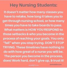 Nursing Classes, Nursing Books, Nursing Memes, Feeling Inadequate, Rn Nurse, Student Motivation, Nursing Students, Fails, Messages