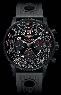 1165 Breitling Navitimer Cosmonaute Blacksteel Watch