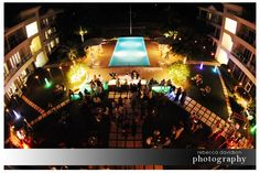 reception at caribbean club