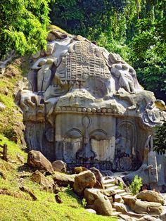 Unakoti Hills in India