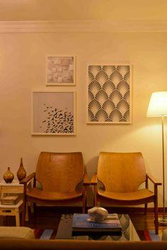 Interior design by architects Tatiana Kfouri e Cristina Zaharenko