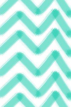 Chevron stripe aqua teal turquoise