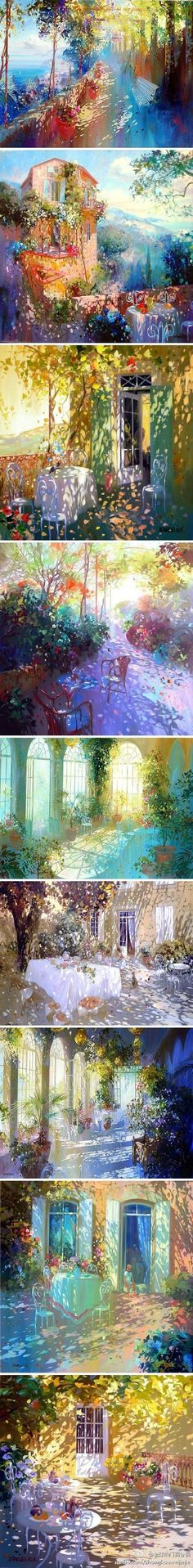 ART BY FRENCH ARTIST Laurent Parcelier.