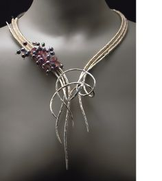 Art Nouveau Jewelry. elemental collection features silver argentium silver 14k gold ...