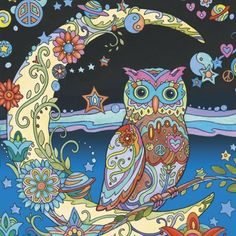 Creative Haven Owls Coloring Book - Pesquisa Google