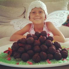This is the horse poop cake we made for Daisy's 8th birthday.     Follow Daisy's Story and see God's glory!