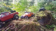 Custom built Newbright Jeep TJ SSD Wheels Jconcept Tires Savox servo Tekin Holmes brushless Esc Friend Rc green jeep XJ Red F. Green Jeep, Rc Rock Crawler, Jeep Tj, Closer To Nature, Diecast, 4x4, Toyota, Antique Cars, Remote